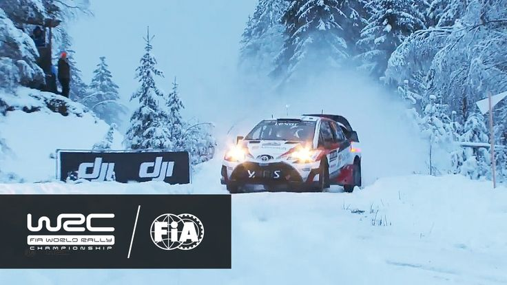 #WRC - #RallySweden 2017: HIGHLIGHTS Stages 1-4