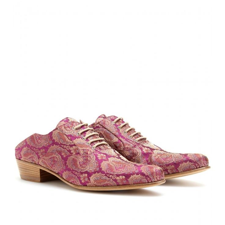 Haider Ackerman Slippers, Paisley