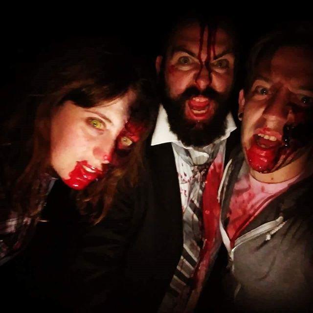 Reposting @geekgirlripley: What does a vegetarian zombie eat?.... Graiiiinnnnsssss. . . . . . #zombie #halloween #horror #art #makeup #halloweenmakeup #inktober #zombies #drawing #inktober2017 #blood #scary #artist #zombiemakeup #ink #gore #sfx #sfxmakeup #thewalkingdead #october #makeupartist #walkingdead #mua #spooky #illustration #sketch #cosplay #skull #creepy #monster