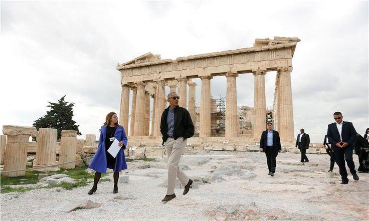 Obama en la acrópolis