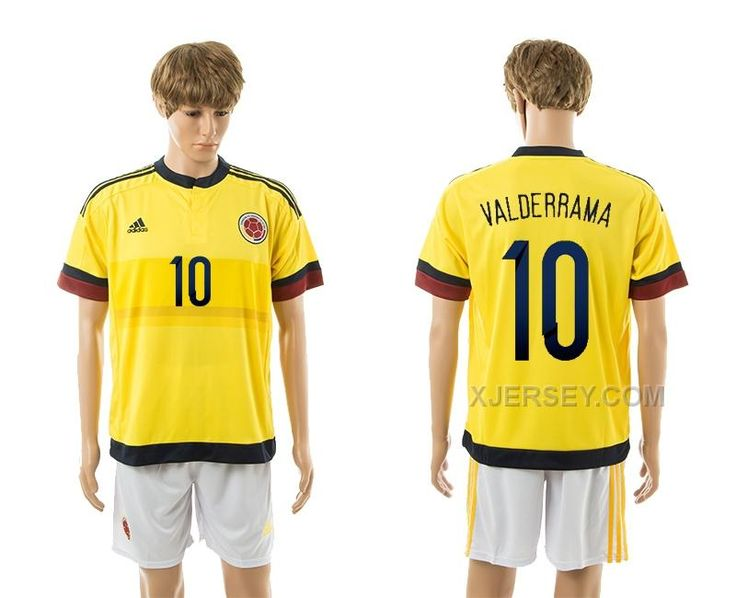 http://www.xjersey.com/201516-colombia-10-valderrama-home-jerseys.html 2015-16 COLOMBIA 10 VALDERRAMA HOME JERSEYS Only $35.00 , Free Shipping!