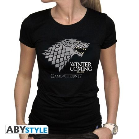 GAME OF THRONES T-shirt Game of Thrones Winter is coming femme