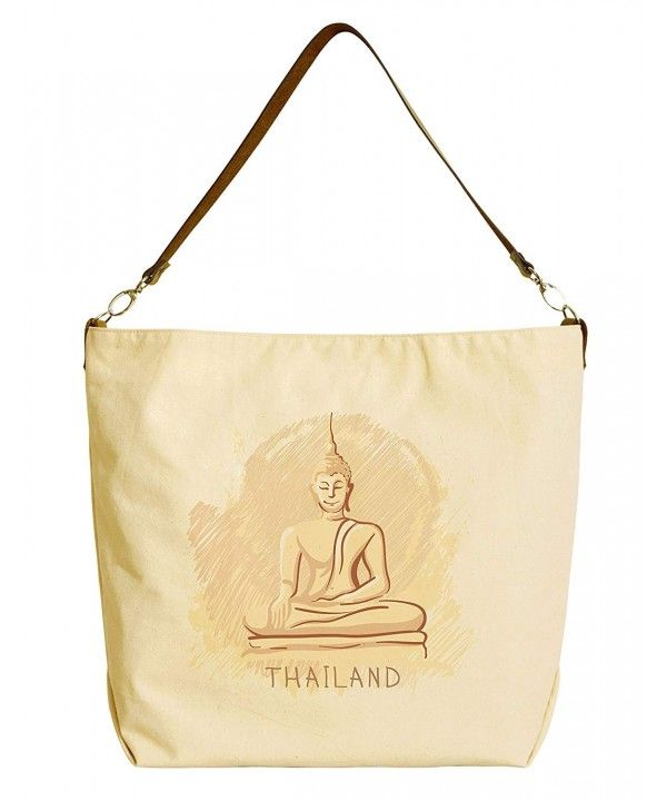 Women s Bags, Totes, World Famous Landmarks Printed Canvas Tote Bag with  Leather Strap WAS 29 - Thailand - C3124W16Q5H  Women  Bags  Fashion   Handbags ... 2287b5c67d