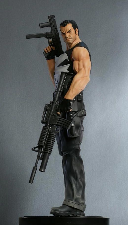 Modern Punisher Statue Bowen Designs | Cool statues ...