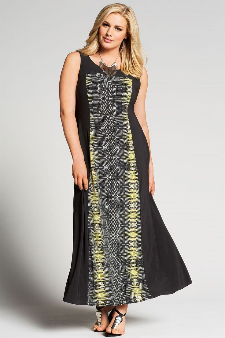 Evans Tribal Maxi Dress - EziBuy New Zealand