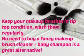 Make sure you clean your #Makeup #brushes often and you don't need #expensive cleaners to do it!!