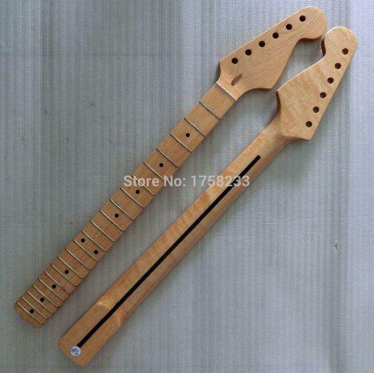 2019 Free shipping Guitar accessories stratocaster , maple fingerplate self-shade Every light guitar neck 21 fret in stock #Affiliate