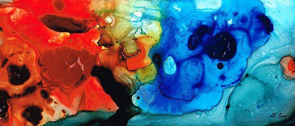 #artwork #abstractart by Sharon Cummings, artist.