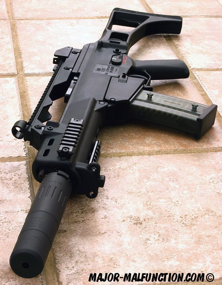 Suppressed Rifles Picture Thread -hk g36c