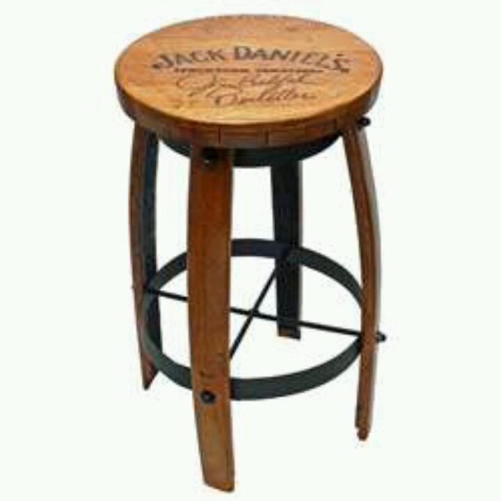 Tabouret De Bar Jack Daniels