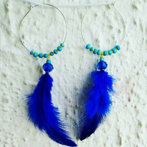 Shopo.in : Buy Feather Earring online at best price in Bharuch, India