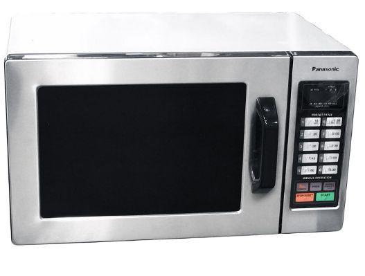Panasonic Microwave Oven Countertop Commercial Stainless 1000 Watt Kitchen Cook…