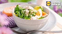 Sałatka z serem feta i jajkiem.  Kuchnia Lidla - Lidl Polska. #lidl #ryneczeklidla #salatka