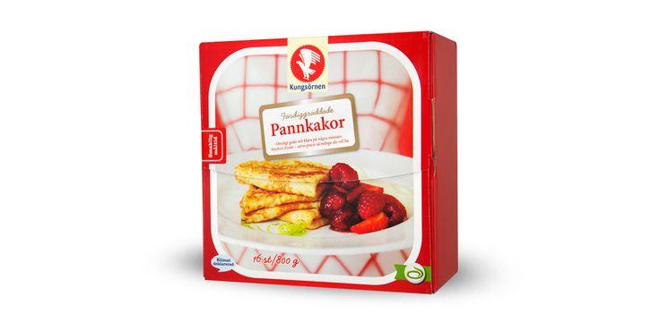 Pannkakor - Produktinformation - Kungsörnen