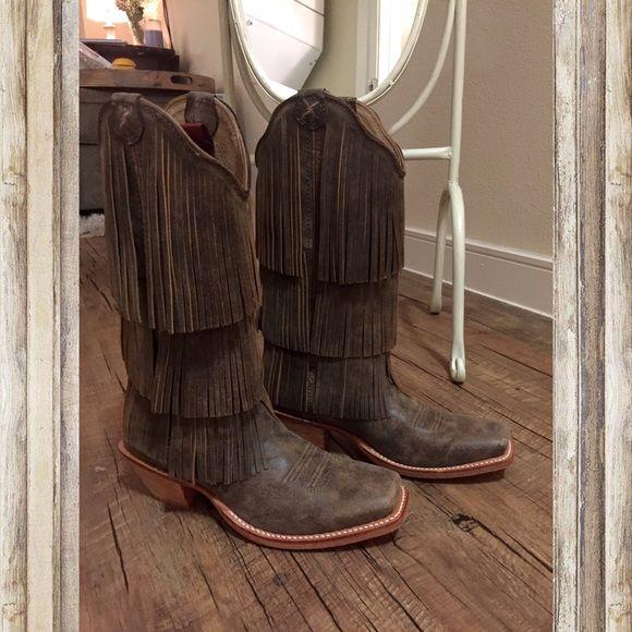 The 25  best Fringe Cowboy Boots ideas on Pinterest | Fringe boots ...