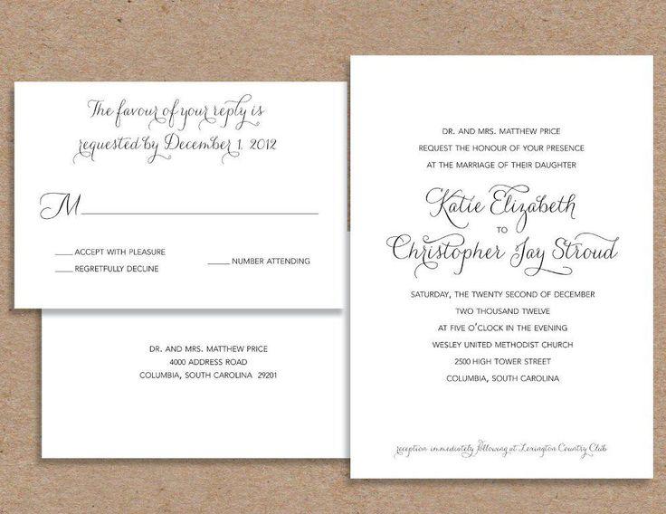 Weding Invitations Wording Casual 032 - Weding Invitations Wording Casual