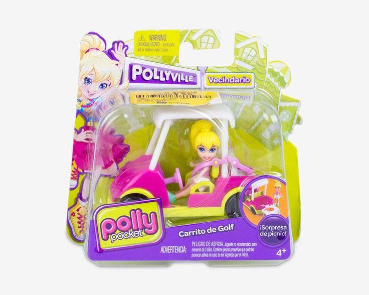 Carrito de Golf Polly Pocket