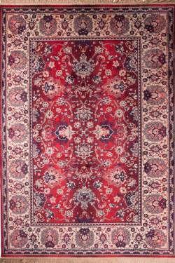 Dutchbone vloerkleed Carpet Bid Old Red