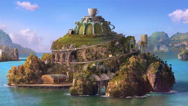A unique and beautifully designed world in which we see the imagined inner sanctums of a Keurig coffee machine. Phenomenal attention to detail and fluid 3D animation provides a wondrous and colourful juxtaposition from the real world to one of utter fantasy – a world we should all visit from time to time.