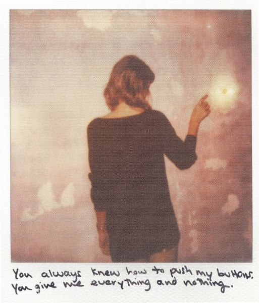 Taylor Swift Polaroid 30 - I Wish You Would #1989 http://www.shineon-media.com/2014/10/27/see-all-65-of-taylor-swifts-1989-polaroids/ <-- all 65