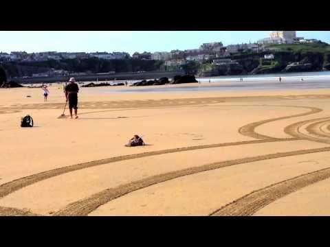 Opere d'arte sulla spiaggia   ENVIRONMENTAL ART - LAND ART