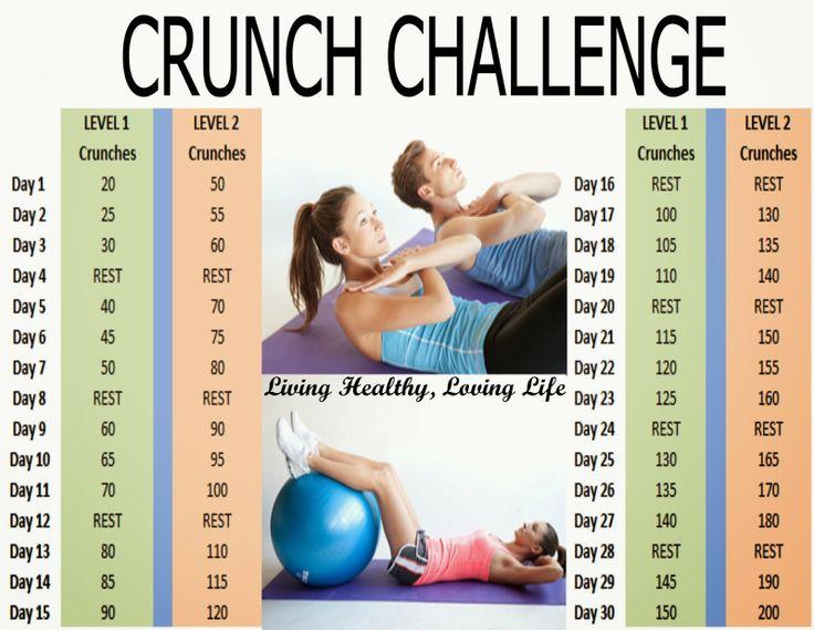 Crunch Challenge 2 Levels