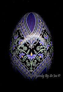 Nightshade - Solanum dulcamara - by So Jeo LeBlond from Folk Art Gallery | (Search Results for 'egg')