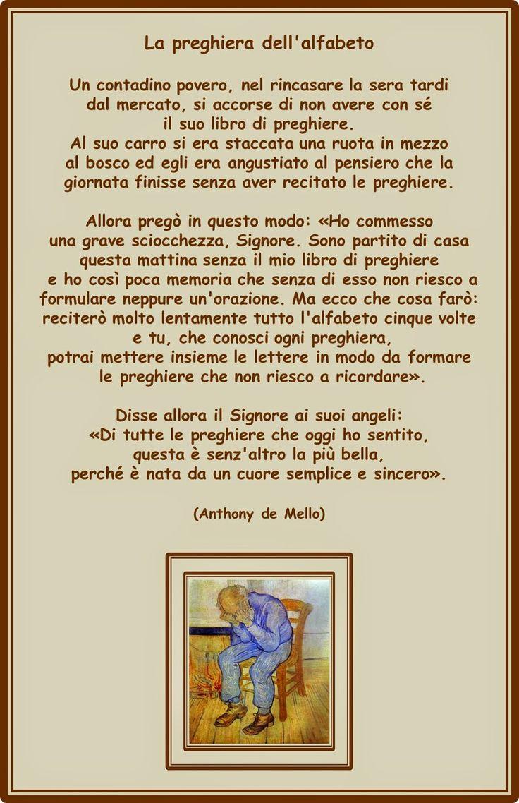 Francesca Ceccherini: testi e immagini di psicologia, sociale, religione, poesia, narrativa: LA PREGHIERA DELL'ALFABETO