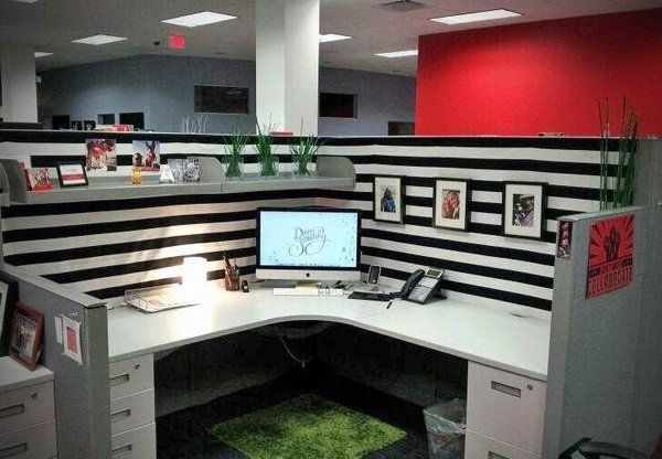 Cute Home Office Ideas: 25+ Unique Decorate My Cubicle Ideas On Pinterest