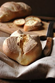 Pane alla semola rimacinata di grano duro | Mamma Papera