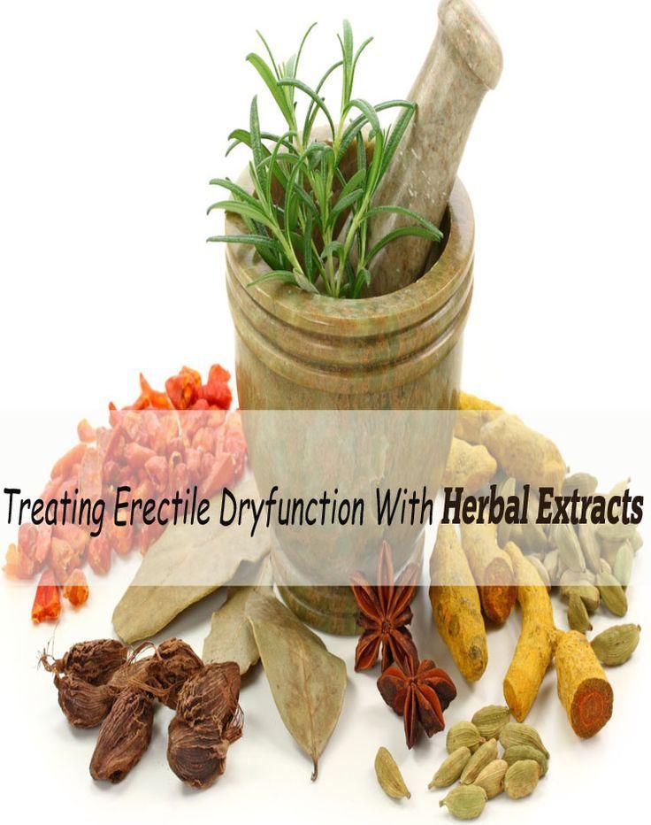 Erectile dysfunction natural treatment