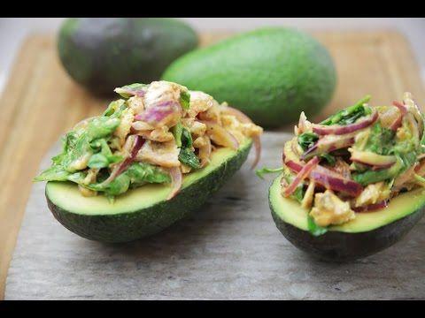Izgara Somonlu Avokado Salatası Tarifi - İdil Tatari - Yemek Tarifleri - YouTube