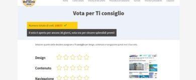 Ticonsiglio.com sito web dell'anno 2016