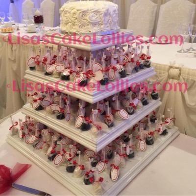 Lisa's Cake Lollies