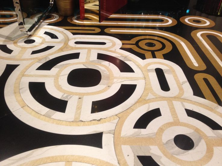 Beautiful flooring at Crown