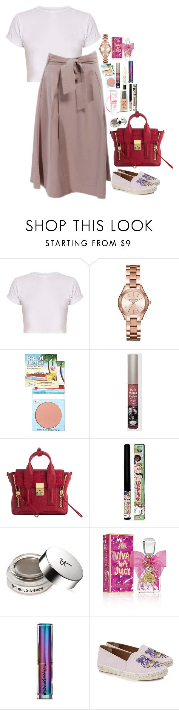 """Untitled #5168"" by veronicaptr ❤ liked on Polyvore featuring Michael Kors, TheBalm, 3.1 Phillip Lim, Max Factor, It Cosmetics, Juicy Couture, Urban Decay and Kenzo"