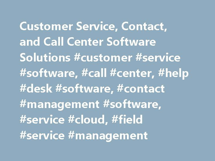 call center and customer relationship management