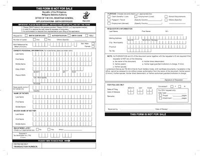 My Metro Lifestyle: How to get a copy of your NSO Birth Certificate an...