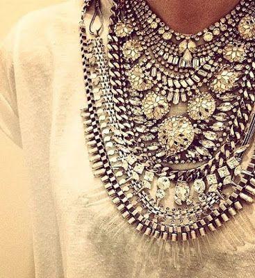 EllaSharlota: Zaostřeno na výrazné náhrdelníky