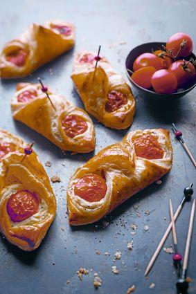 Oranais salés aux tomates cocktails et ricotta
