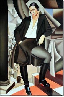 Hollenderka z Salle - Tamara Lempicka