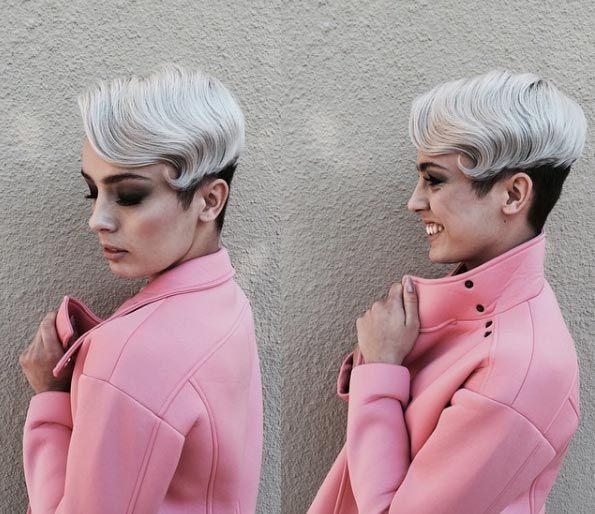 Retro pixie cut by Amy Loubris
