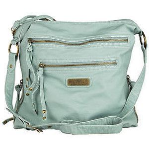 aqua messenger cross body bag