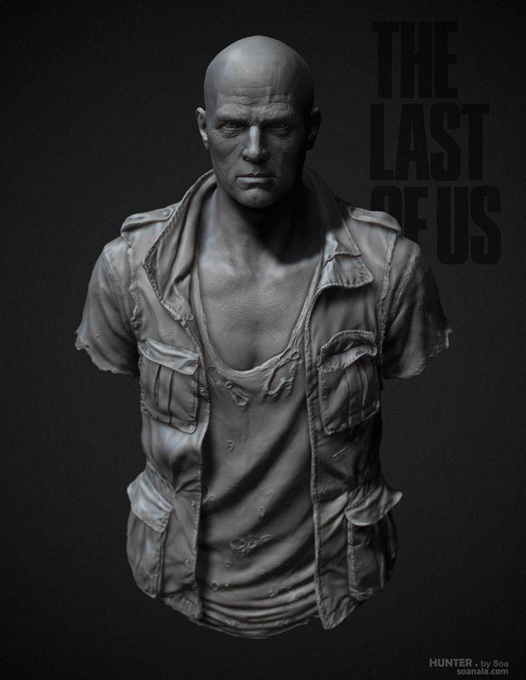 The Last of Us Characters Sculpt Part 2