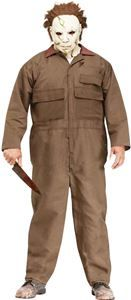 Michael Myers Adult Mens Plus Size Costume - 373740 | trendyhalloween.com