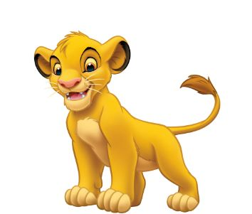 Simba is the main protagonist of the 1994 Disney film The Lion King. In the original film, he was voiced by Jonathan Taylor Thomas as a cub and by Matthew Broderick as an adult. He has also been voiced by Cam Clarke in House of Mouse, Timon and Pumbaa, and other appearances, and his singing voice was provided by Jason Weaver in the original version, while Matt Weinberg provided his singing voice in the special edition version and the midquel. Newborn Simba was very small and chubby with a...