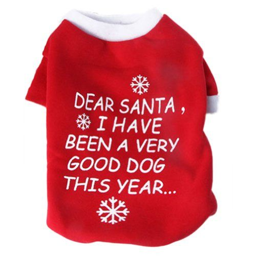 Comemall Dog Christmas Sweater in Red - http://www.christmasshack.com/dog-christmas-sweaters/comemall-dog-christmas-sweater-in-red/