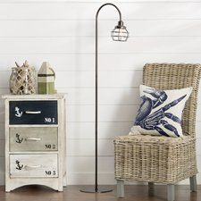 Rustic Floor Lamps You'll Love | Wayfair