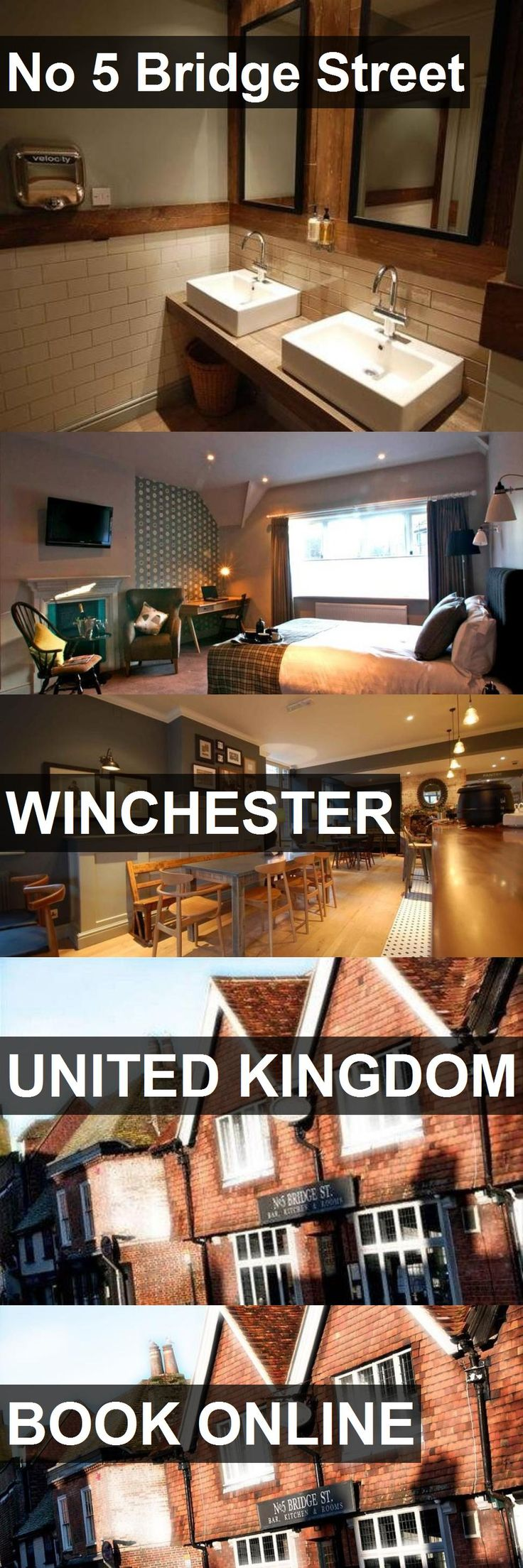 Hotel No 5 Bridge Street in WINCHESTER, United Kingdom. For more information, photos, reviews and best prices please follow the link. #UnitedKingdom #WINCHESTER #travel #vacation #hotel