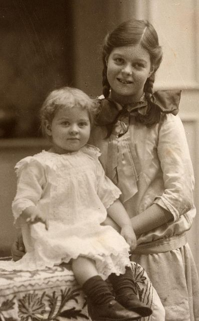 In December 1914 with sister Marjorie | Flickr - Photo Sharing!
